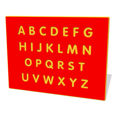 Alphabet Upper Case Play Panel