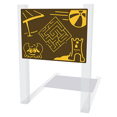 Beach Maze Play Panel
