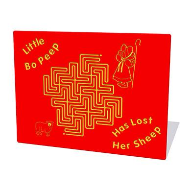 Bo Peep Maze Play Panel