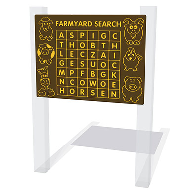 Farmyard Search Play Panel