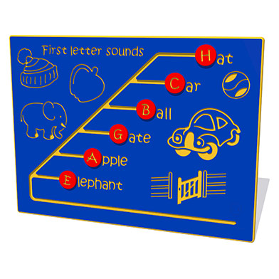 First Letter Sounds Play Panel