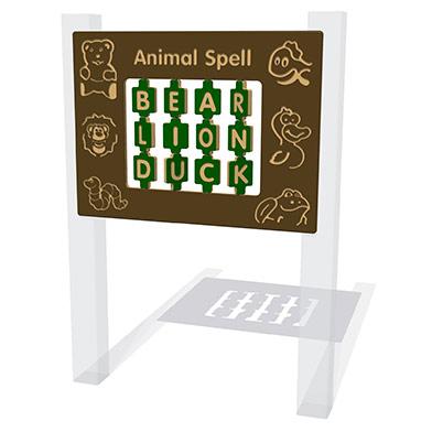 Animal Spelling Play Panel