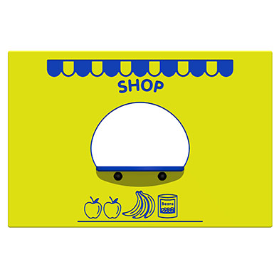 Grocers Shop Play Panel