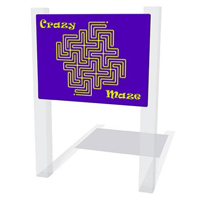 Crazy Maze 2 Play Panel