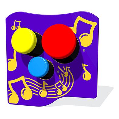 Bongos Musical Play Panel