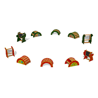 Nessie Play Elements Set