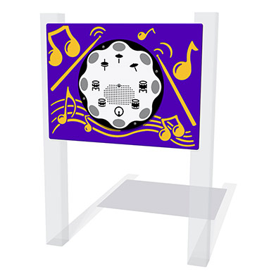 PlayTronic Drums Musical Play Panel