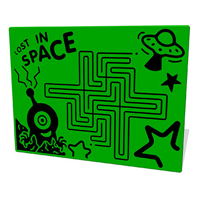 Lost in Space Maze Play Panel