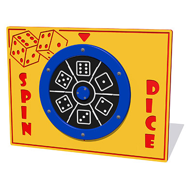 Spin Dice Play Panel