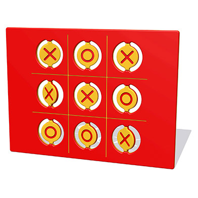 Flip-Over Noughts & Crosses Play Panel