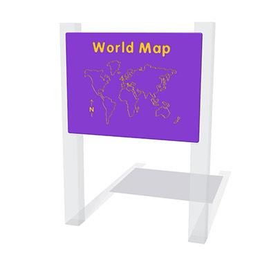 World Map Play Panel