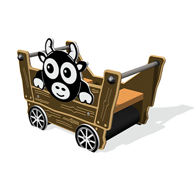 Tractor Trailer with Cow
