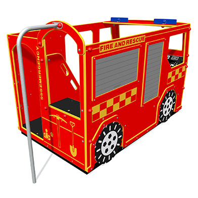 Fire and Rescue Truck