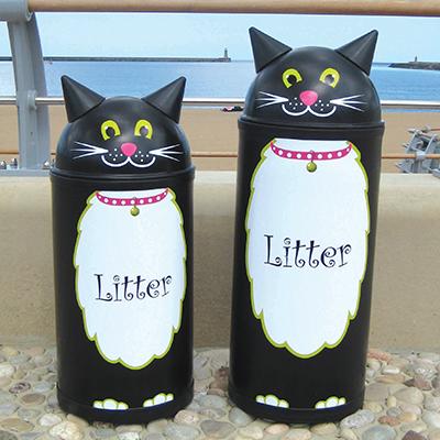 Small Cat Litter Bin