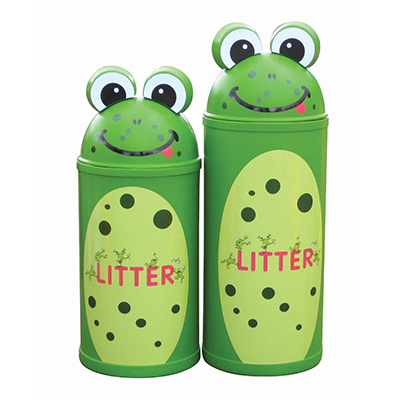 Small Frog Litter Bin