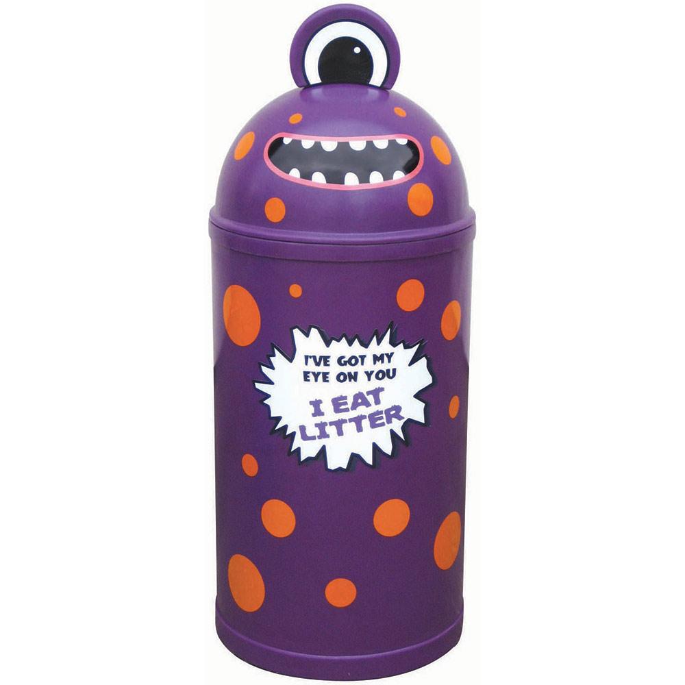 Small Monster Litter Bin