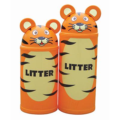 Small Tiger Litter Bin