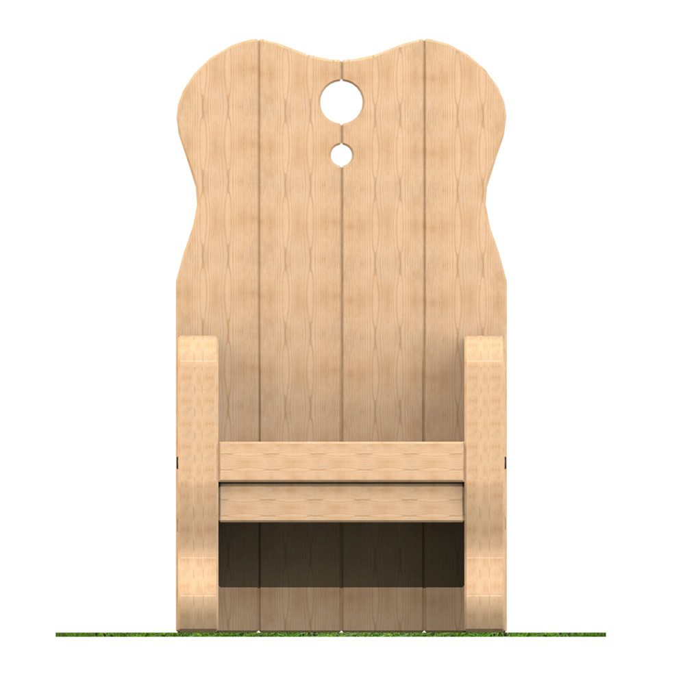 Timber Storytelling Chair