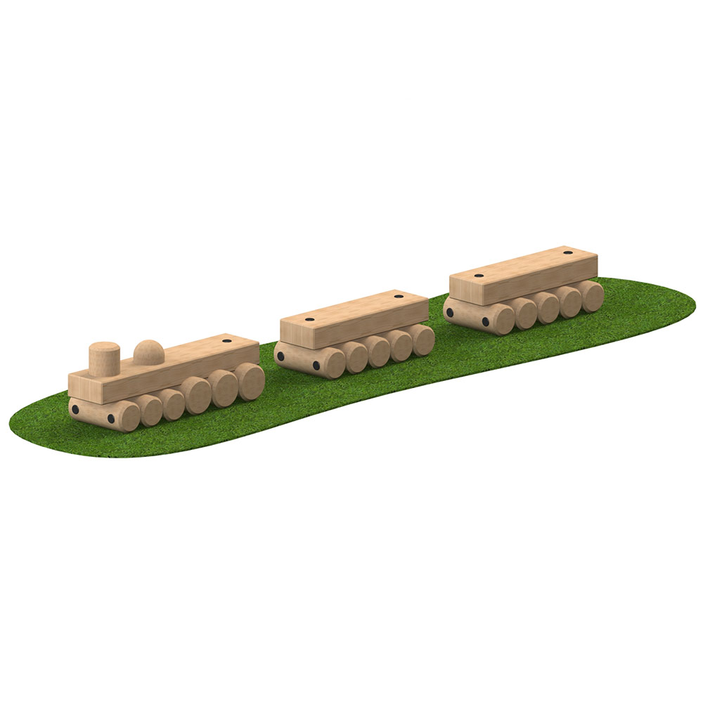 Timber Play Train