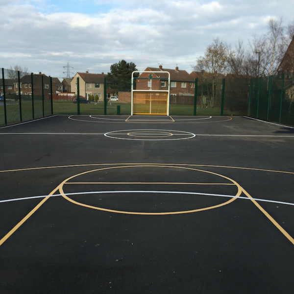 Multi Court Netball Football Basketball
