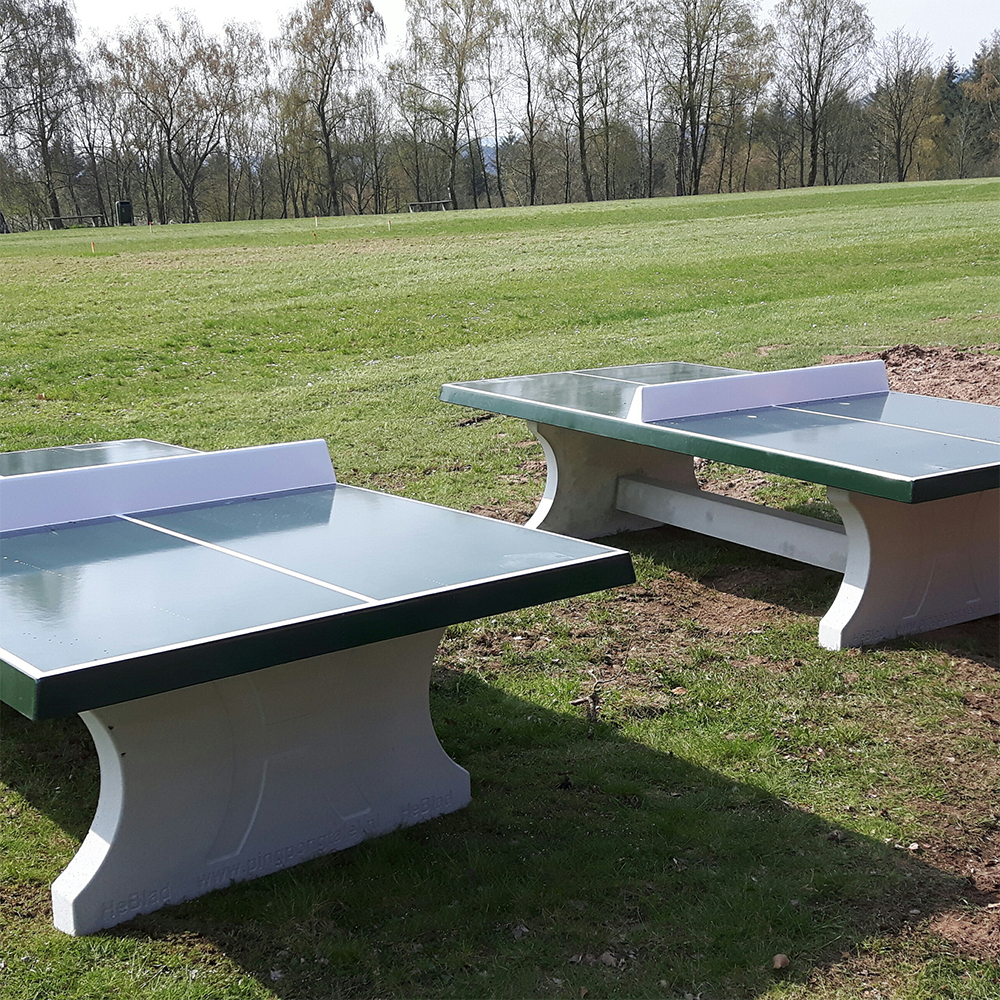 Concrete Ping-Pong Table (Green)