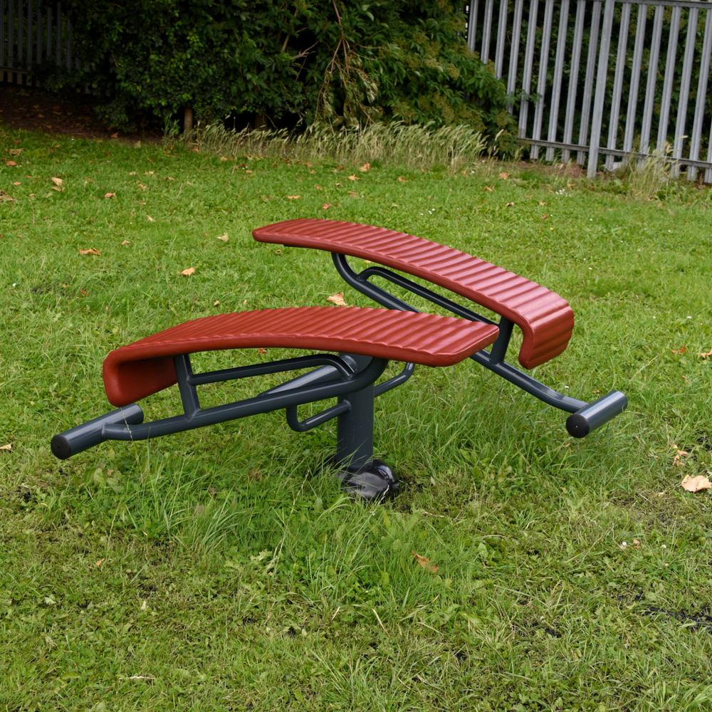 Childrens Double Sit up Bench