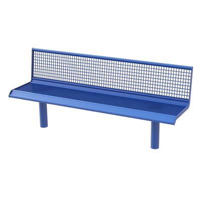 Steel Grated Seat Single Colour 2M