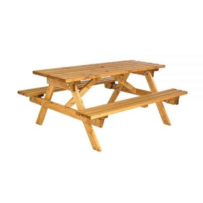 Cotswold 6 Seater Traditional Picnic Bench