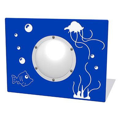 Underwater Scene Play Panel with Clear Dome