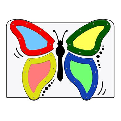 Sparkling Butterfly Play Panel