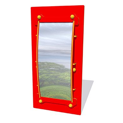 Convexed Mirror Play Panel