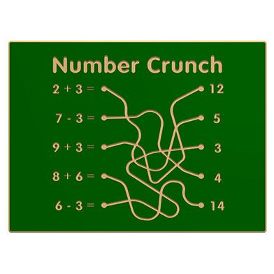 Number Crunch Play Panel