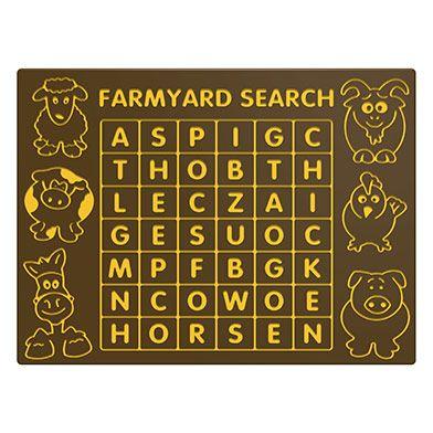 Farmyard Search Play Panel