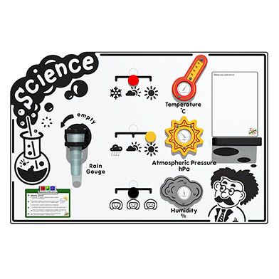 Scientific Weather Station Play Panel