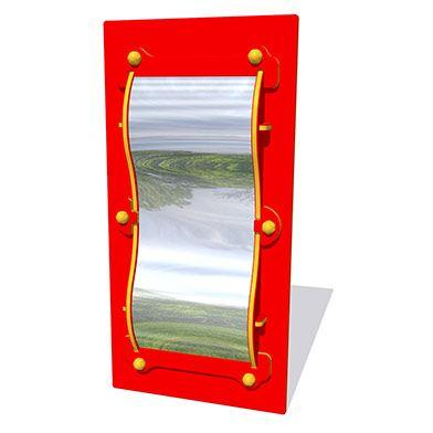 Wobbly Mirror Play Panel