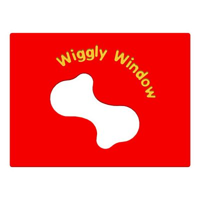 Wiggly Window Play Panel
