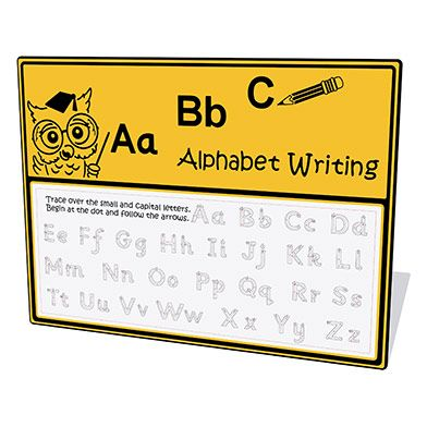 Alphabet Writing Play Panel