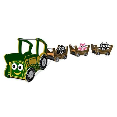Toby the Tractor and Trailer Set