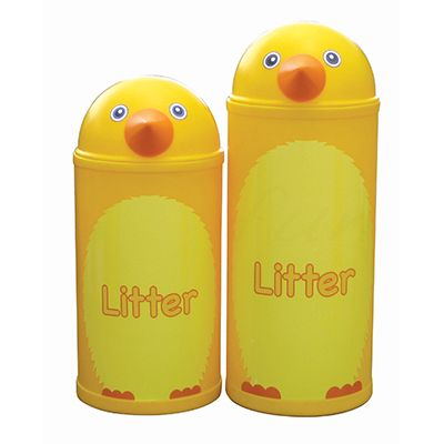 Large Chick Litter Bin