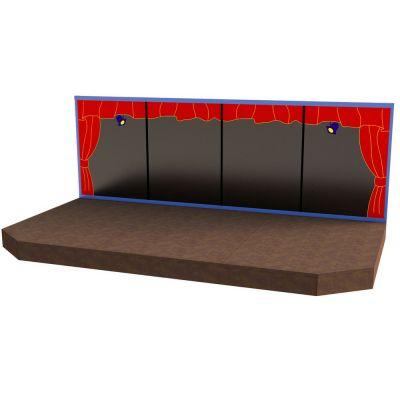 6m Steel Stage