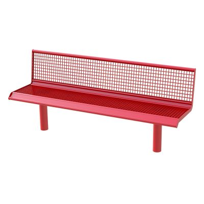 Steel Grated Seat Single Colour 3M