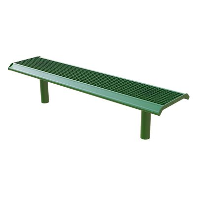 Steel Grated Bench Single Colour 2M