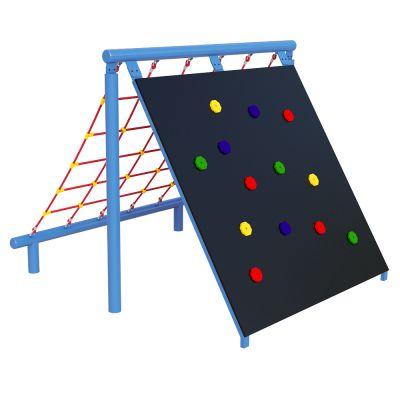 Climbing Wall (& Scramble Net)