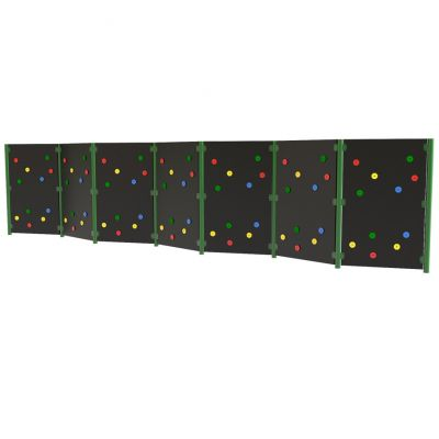 Solid Traverse Wall (7 Panels)