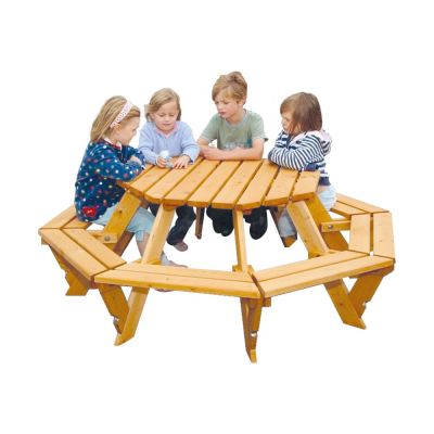 Infant Octagonal Picnic Bench