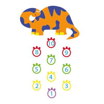 Dinosaur Hopscotch