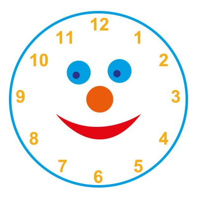 3m Clock Smiley Face