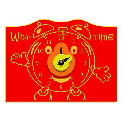 What Time Alarm Clock Play Panel