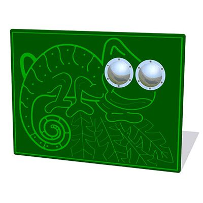 Bug Eyes Chameleon Play Panel