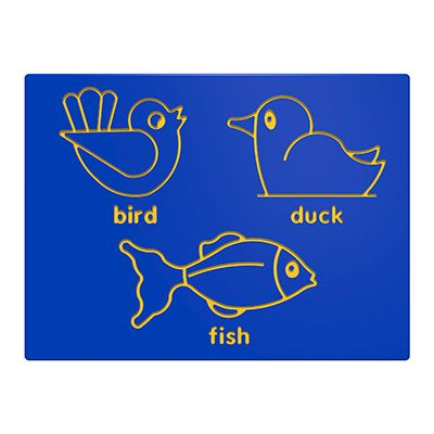 Bird, Duck & Fish Play Panel